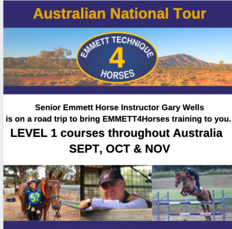 Australian National Tour- EMMETT 4 Horses